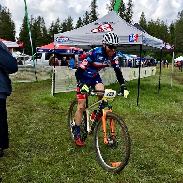 Kevin Dagostino has been representing us all the way out in Idaho! He recently moved from Black Mountain to Boise, and last weekend he participated in the Knobby Tire Series 9-5 race in McCall, ID.  He and his friend Seth raced the duo category, putting in laps from 9:00am to 5:00pm, a fun day of work. Each lap was appx 11 miles with 1,700' of climbing.  We completed 7 laps in wild weather: sun, rain, hail, and snow with temps ranging from 30-50! He says it was a rad day with lots of kit changes. Kevin plans to compete in a few more races through the Knobby Tire Series and then do the local Bogus Basin MTB Race Series as well. We're wishing him luck from the East Coast! #ctsathlete #9to5 #knobbytireseries