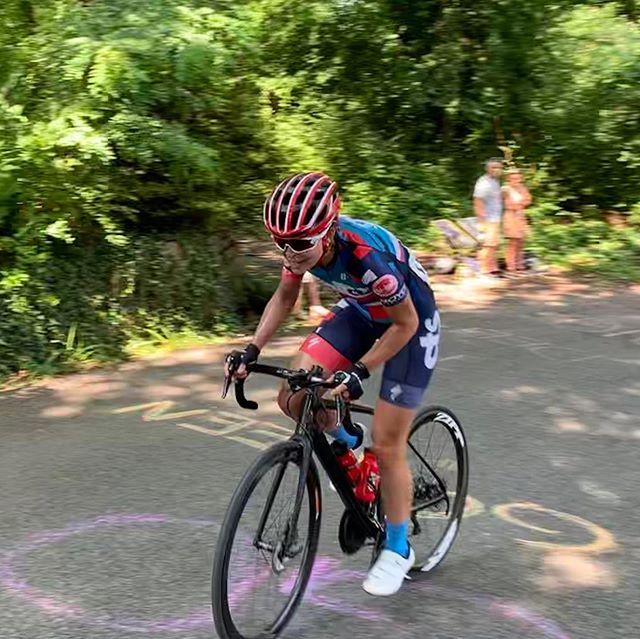 Go Nina Go! Nina raced at Pro Road Nationals today in Knoxville, TN and got 16th!! She battled it out with the best in the country and finished with the lead group. Congrats! 💪🥳🚲 #ygg #toptwenty #roadnats #sopro