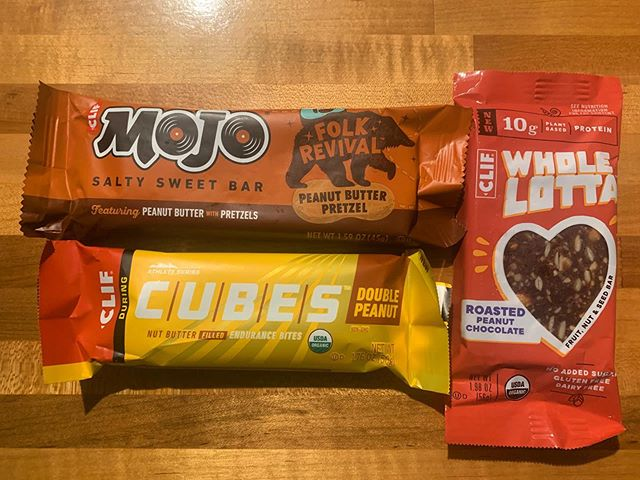 Excited to try these new @clifbar products on today's ride. Have you tried them? Favorite flavors? . #clifbar #clifmojo #clifcubeschallenge #wholelottabar