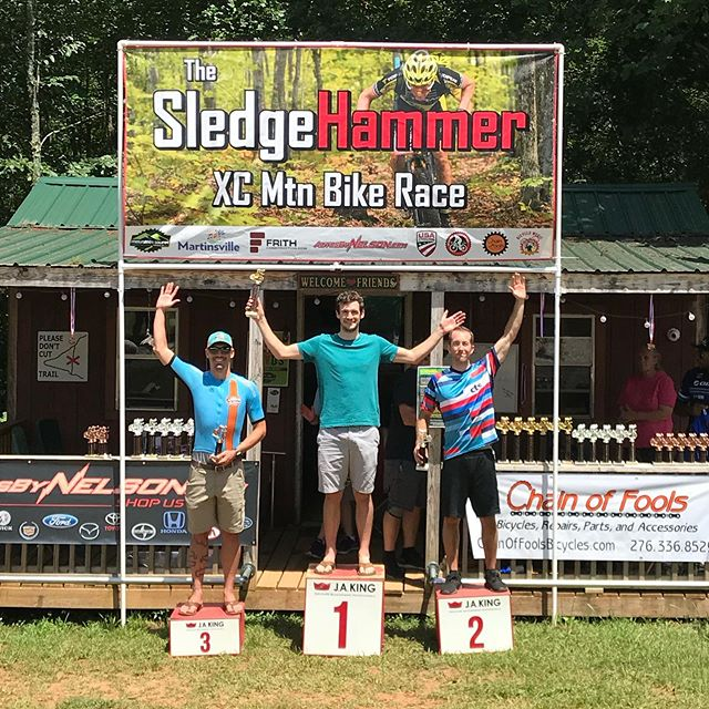 Another Southern Classic Series XC race in the books! It was a hot day in Ridgeway, Virginia, but Will Pfeiffer finished 2nd in Men's Cat 1 30-39, Zeb Ramsbotham was 3rd in Men's Pro/Cat 19-29, and Annie Pharr was 3rd in Women's Pro/Cat 1! @southernclassicmtb #wecametorace #ctsathlete #southernclassicseries