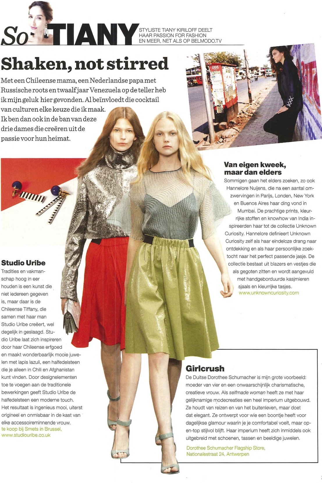 Nieuwsblad Magazine- 7thMarch 2015