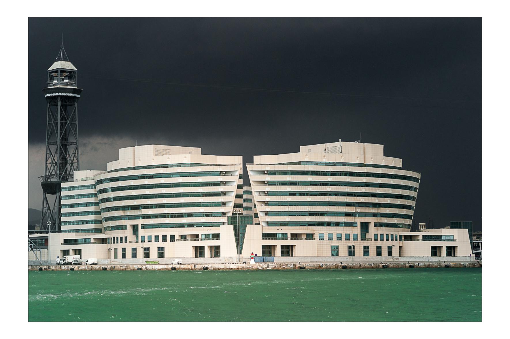World trade center, Barcelone 2009.  Henry N. Cobb architecte.
