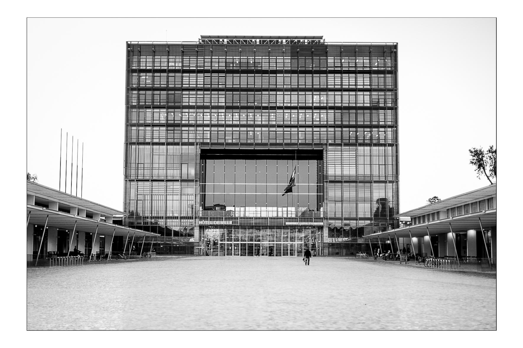 Hotel de Ville de Montpellier, 2013.  Jean Nouvel architecte.