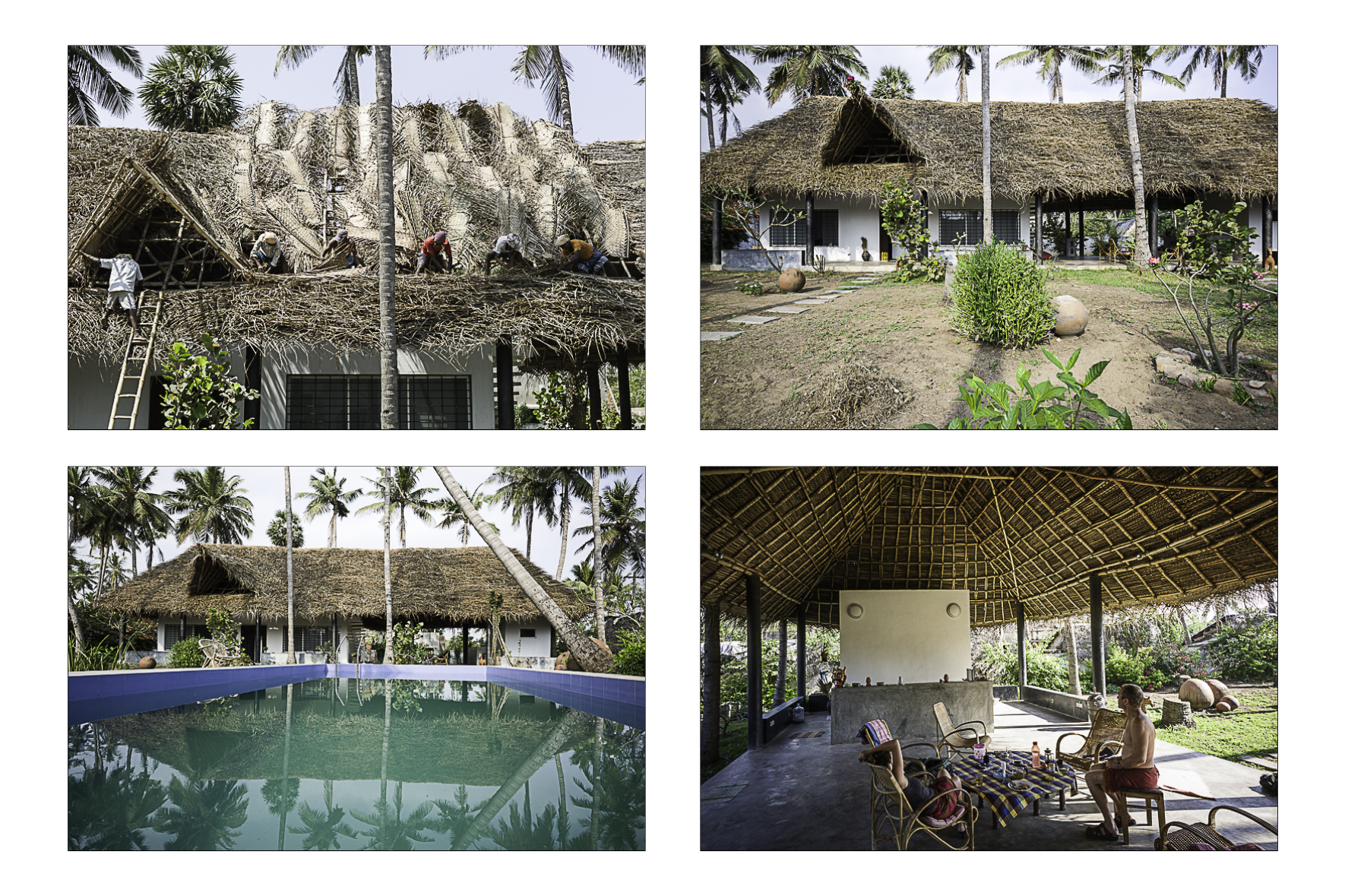 La maison d'Emma, Inde 2014.  Hervé Giorsetti architecte.