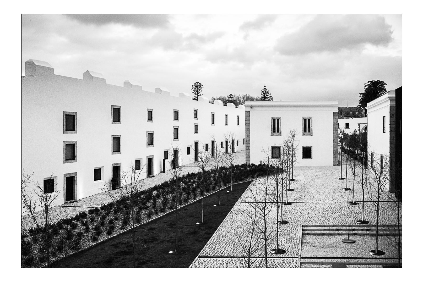 Pousada de Cascais, Portugal 2013.  Gonçalo Byrne and David Sinclair Architectes.