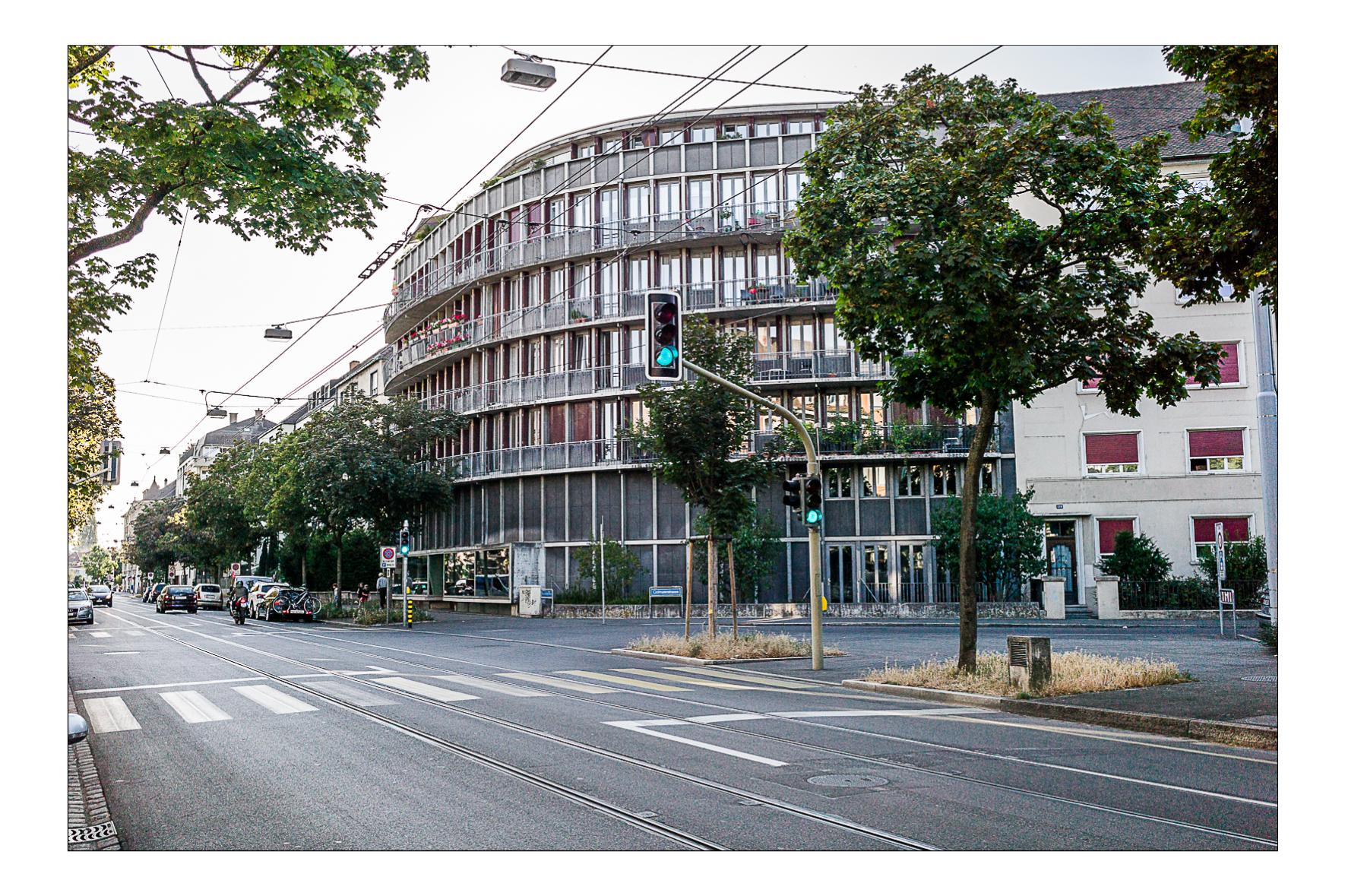Résidence Allswillerstrasse, Bâles 2014  Herzog De Meuron Architectes 1988