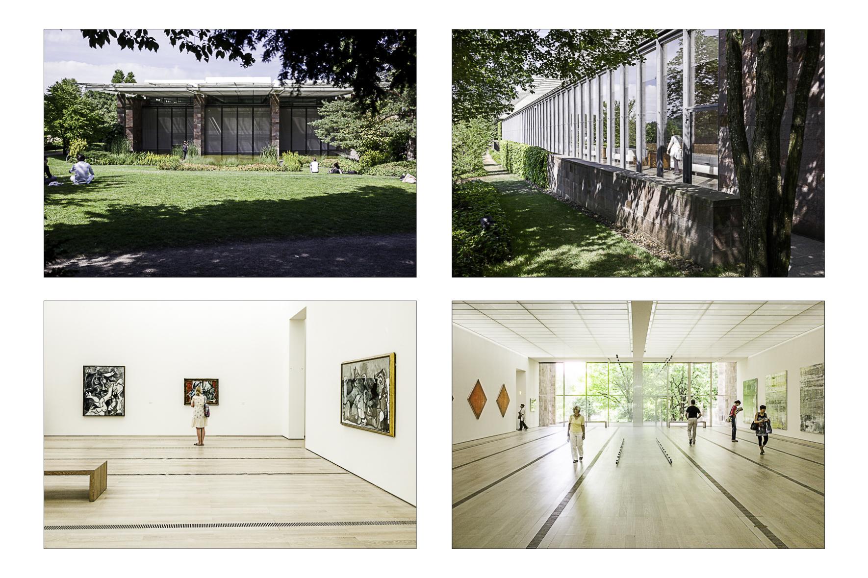Fondation Beyeler, Bâles 2014  Renzo Piano Architecte 1997