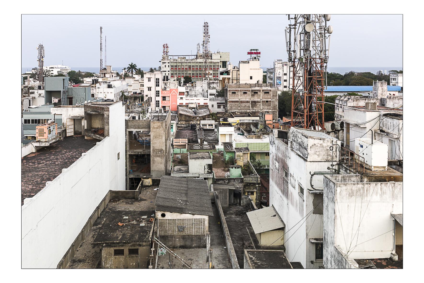 Pondicherry, Inde Février 2015
