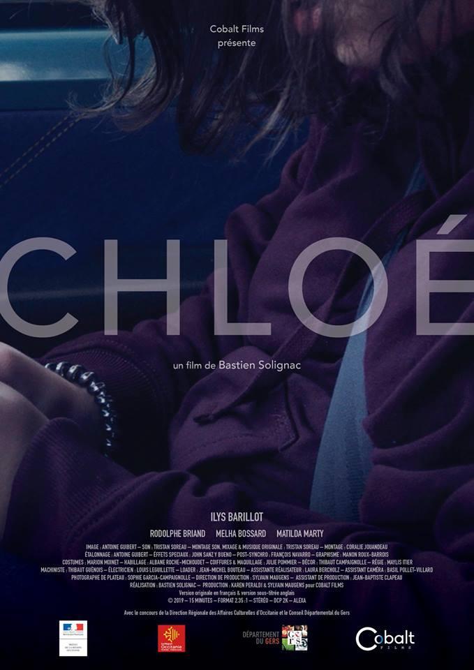 Chloé - Court-métrage - 15' - ARRI ALEXA  Réalisation : Bastien Solignac  Production : Cobalt Films