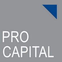 Tout d'abord, le logo de  ProCapital . On fait difficilement plus sobre.