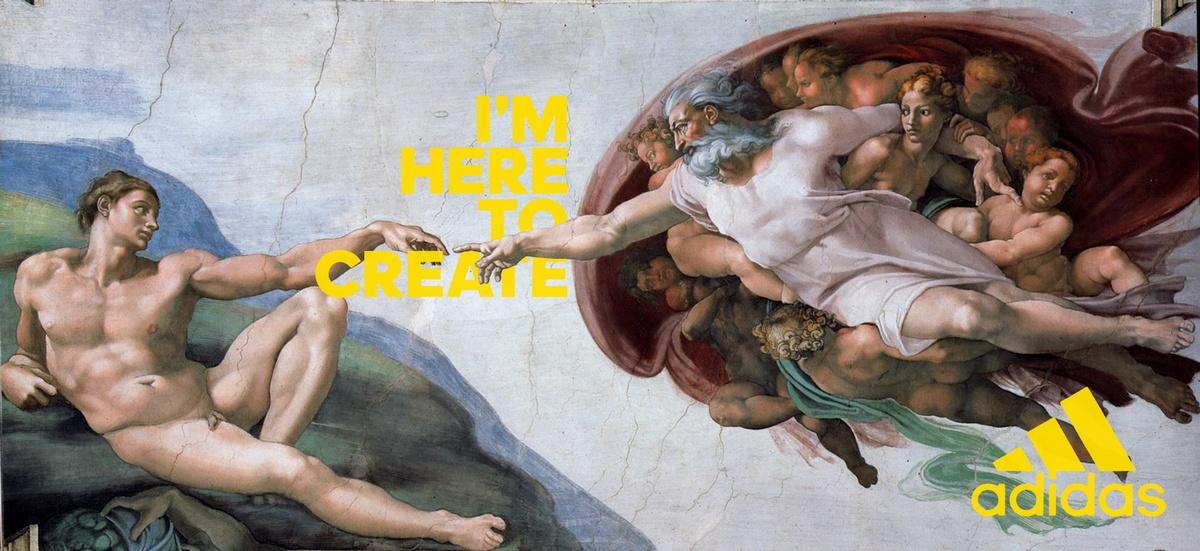 Michel-Ange - La Création d'Adam