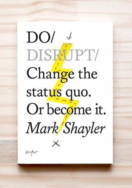 DO Disrupt | Mark Shayler