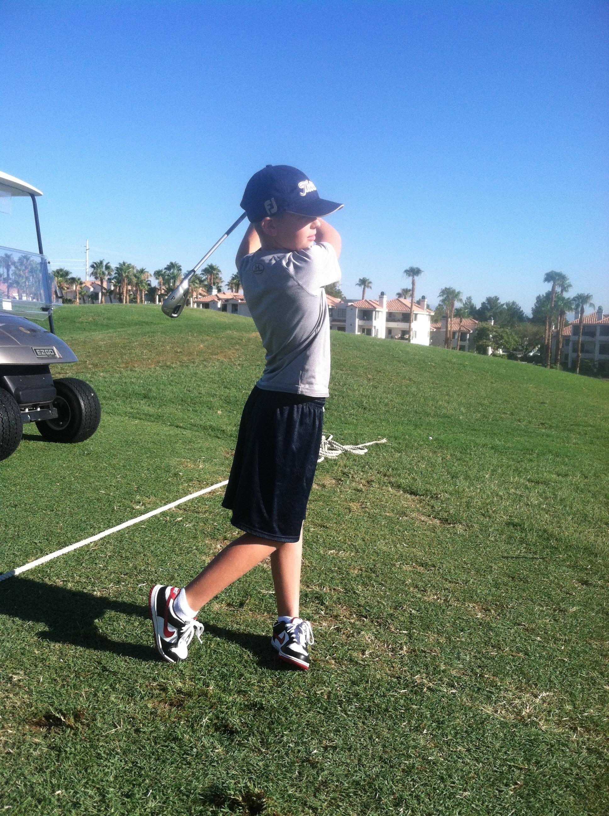 Justin O. - age 9