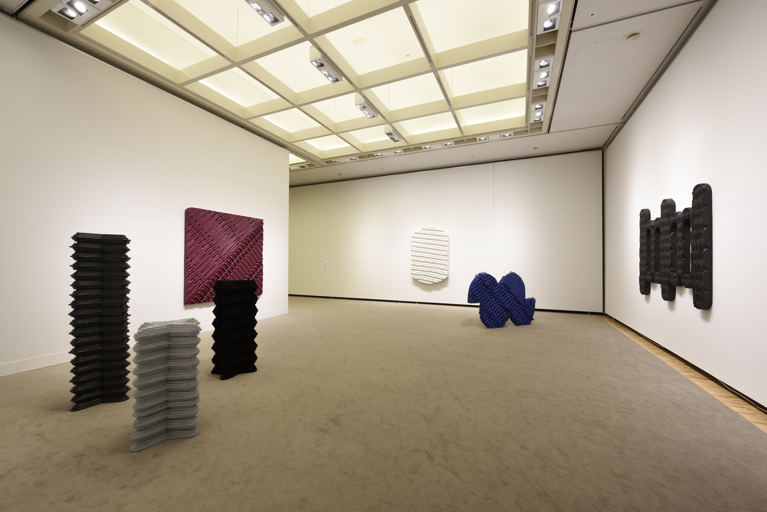 Aichi Prefectural Museum of Art. Nagoya, Japan. Installation view.  Photographer: Tetsuo Ito