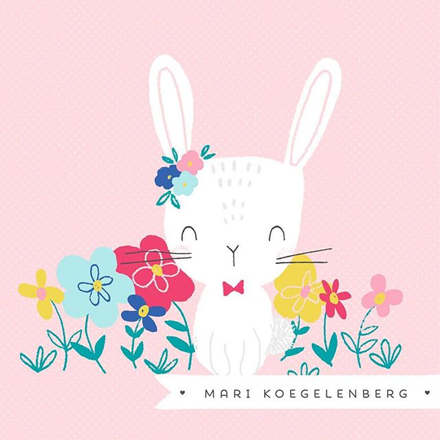 Also don't forget this cutie bunny rabbit perfect for Easter 🐣 🐰  #digitalscrapbook #memorykeeping #travellersnotebook @thedigitalpressco #scrapbooking #marikoegelenbergcreations #surfacepatterndesign #clipart