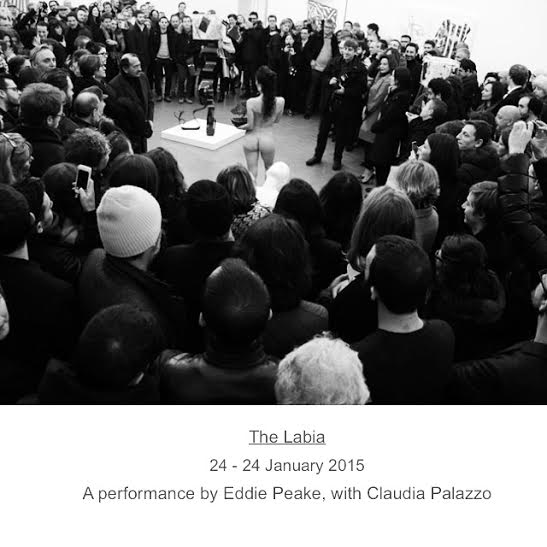 "Back in London after a fierce, challenging and re-energising 3 months in Rome performing ""The Labia"" by Eddie Peake at  Galleria Lorcan O'Neill Roma  Sad to leave and happy to be back. Ready for more dancing.   #claudiapalazzo #eddiepeake #dance #performance #lorcanoneil"