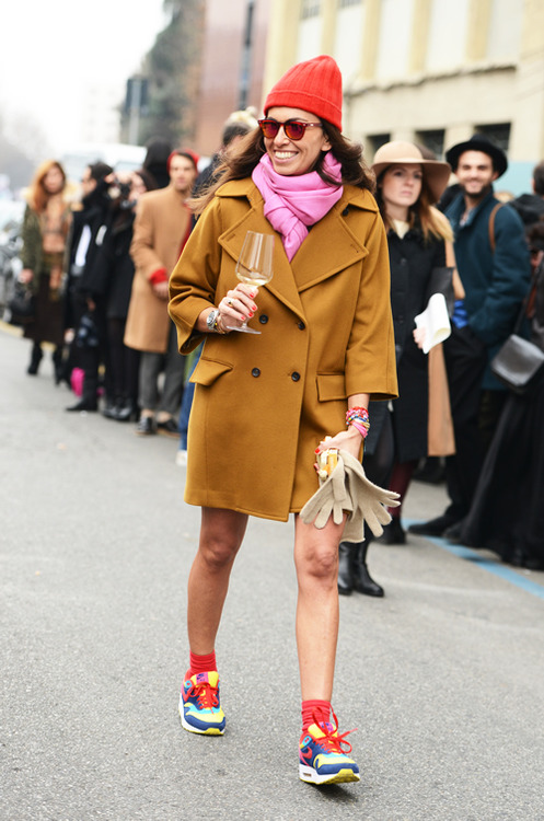 Street Style Fashion Week 2013