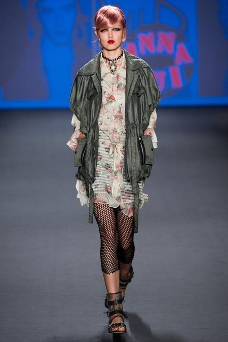 Anna Sui SS 2013