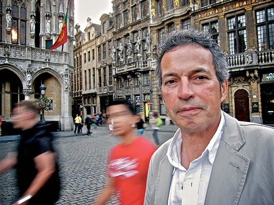 Jimenez today, Brussels (Photo: Cycling Inquisition)