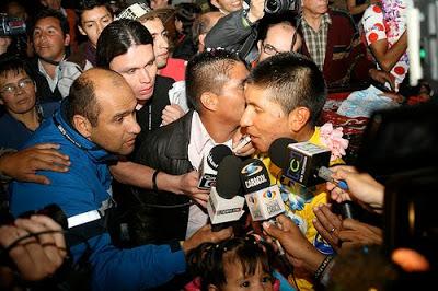 Nairo Quintana returns to Boyacá last year after winning the Tour de l'Avenir