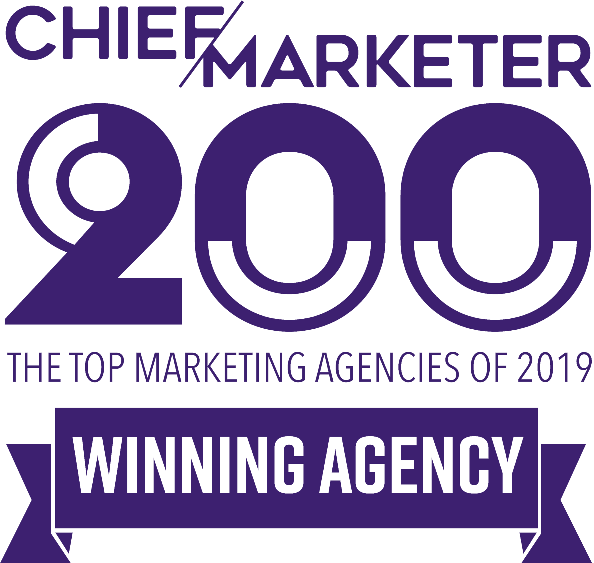 Kicking Cow Promotions is a 2019 Chief Marketer 200 winning agency.