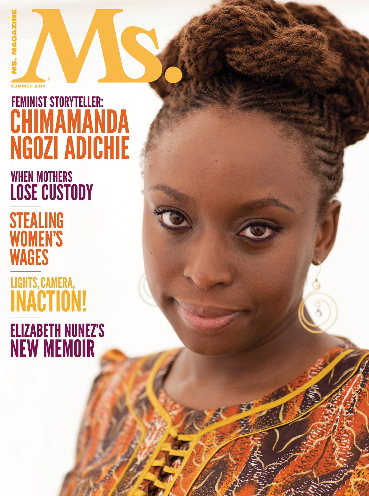 The cover story of our upcoming Summer 2014 issue: an interview with Chimamanda Ngozi Adichie!  Buy the issue in print or digital formats:  http://bit.ly/1hA1wj1