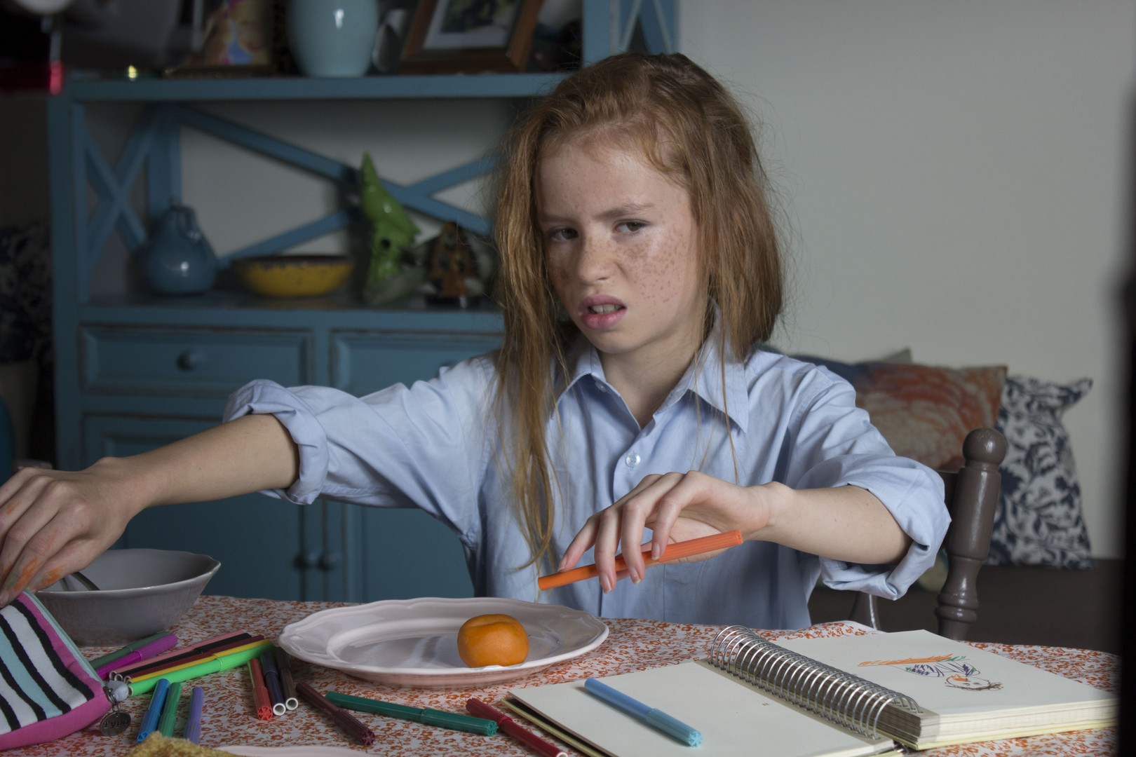 Apricot - Lara Del ArteSynopsis: Ten-year old Margaret Mary has a problem. A dentureless, dribbling problem to be exact. Will her efforts to get rid of her elderly grandmother pay off? Or will she be forced to share her house (and her parents) forever?RT: 5:002017, Australia / Maine + U.S. Premiere