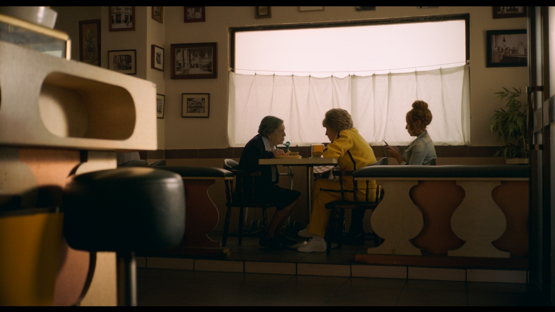 Not even a line - Victor SomozaSynopsis: As they do every afternoon Encarna and Rosario meet up to have churros for afternoon snack in their neighbourhood café. However, today is a special day. Today they'll be changing their usual conversation topics.RT: 17:002017, Spain / Maine + New England Premiere