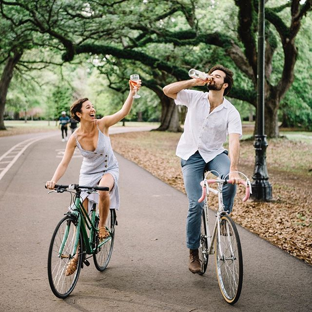 Feels like just yesterday when we were riding around the park and drinking Rose. This weekend I'll be flying out to St. Michaels to capture Allie & Harry's big day! 🍷 Cheers to these two lovely people that I'm lucky to call my friends!