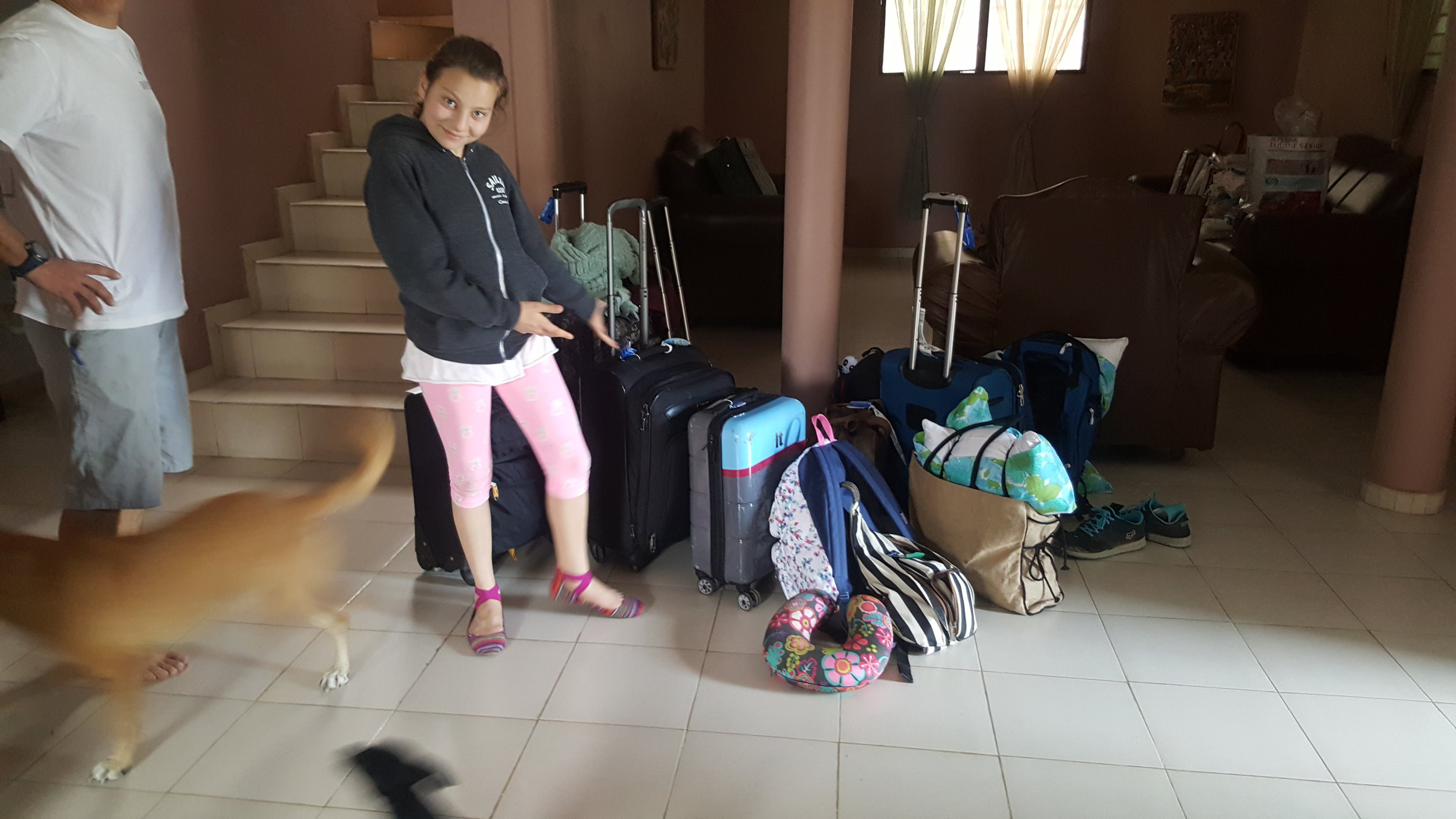 All of our luggage made it safely!