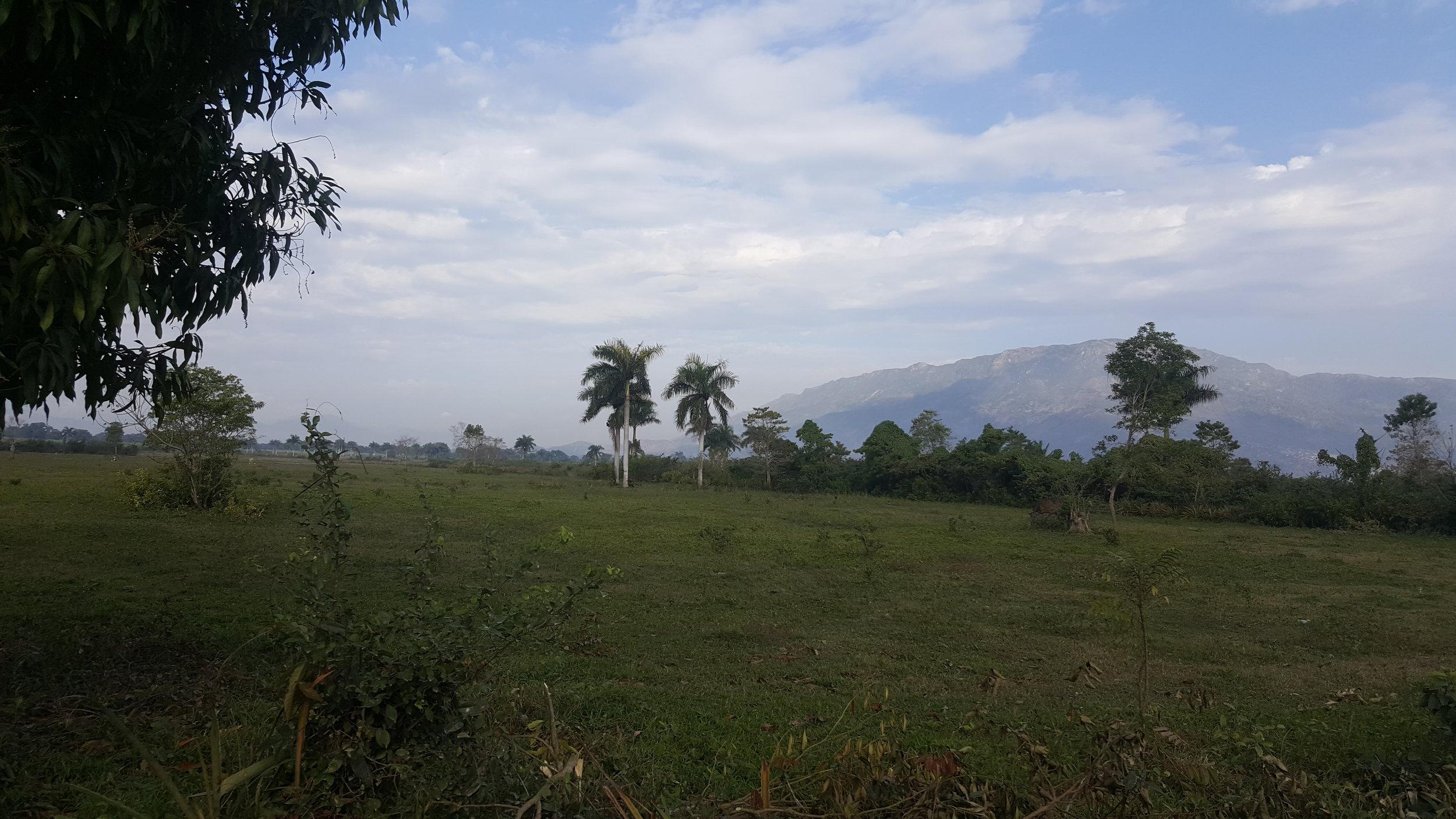The beautiful scenery of Northern Haiti