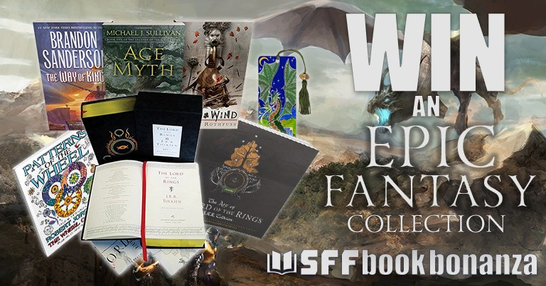 ENTER FOR YOUR CHANCE TO WIN THIS INCREDIBLE FANTASY COLLECTION!
