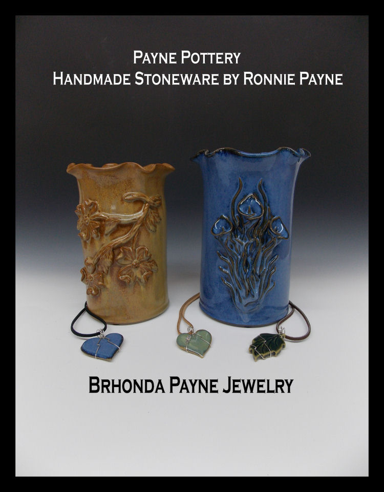 Handmade Stoneware by Ronnie Payne
