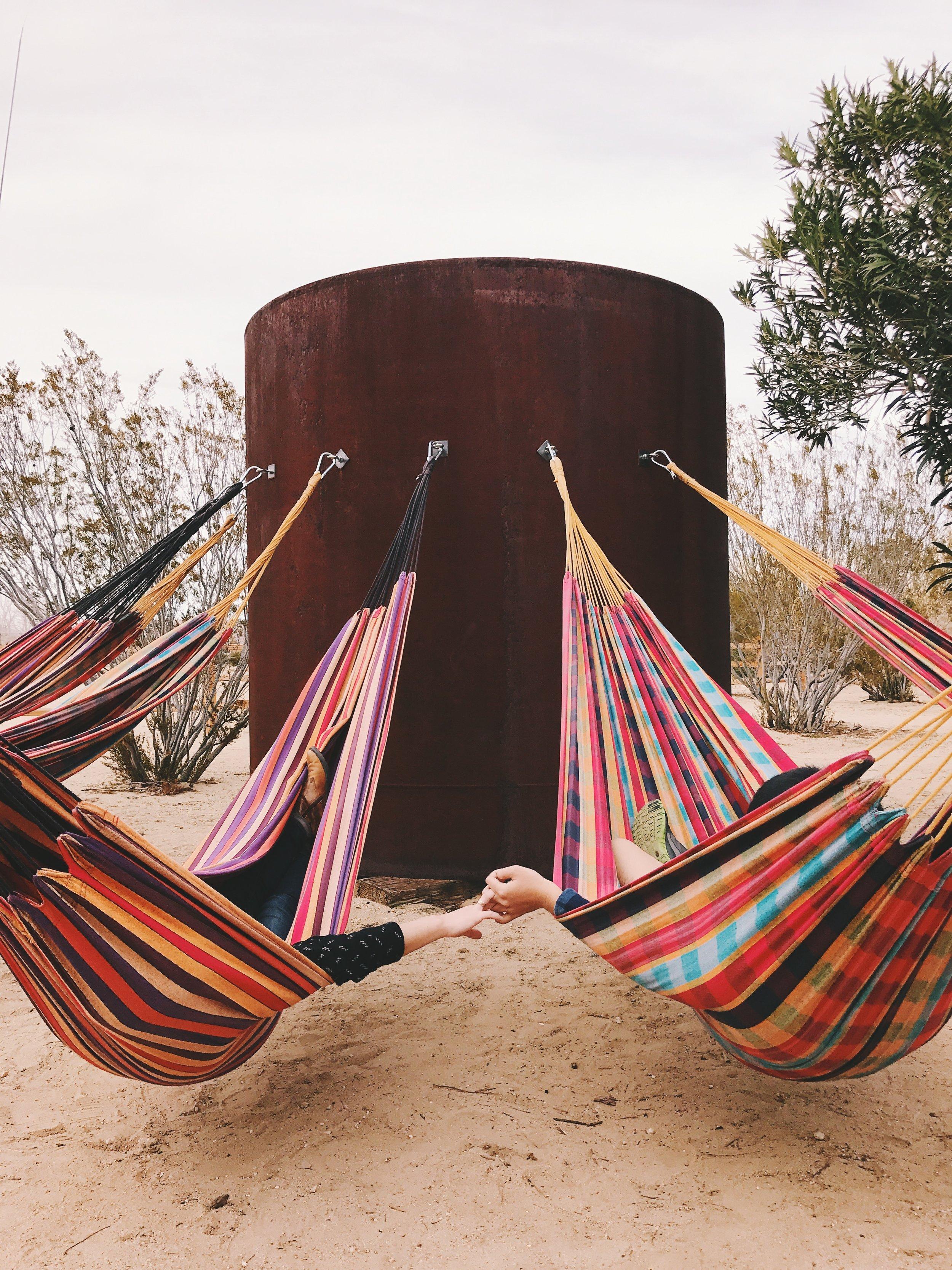 integratron joshua tree hammock
