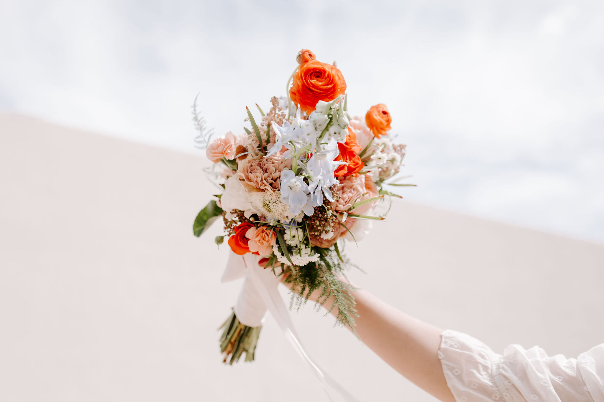 Matt Asami and Emily Okada wedding flowers Florally Yours Co