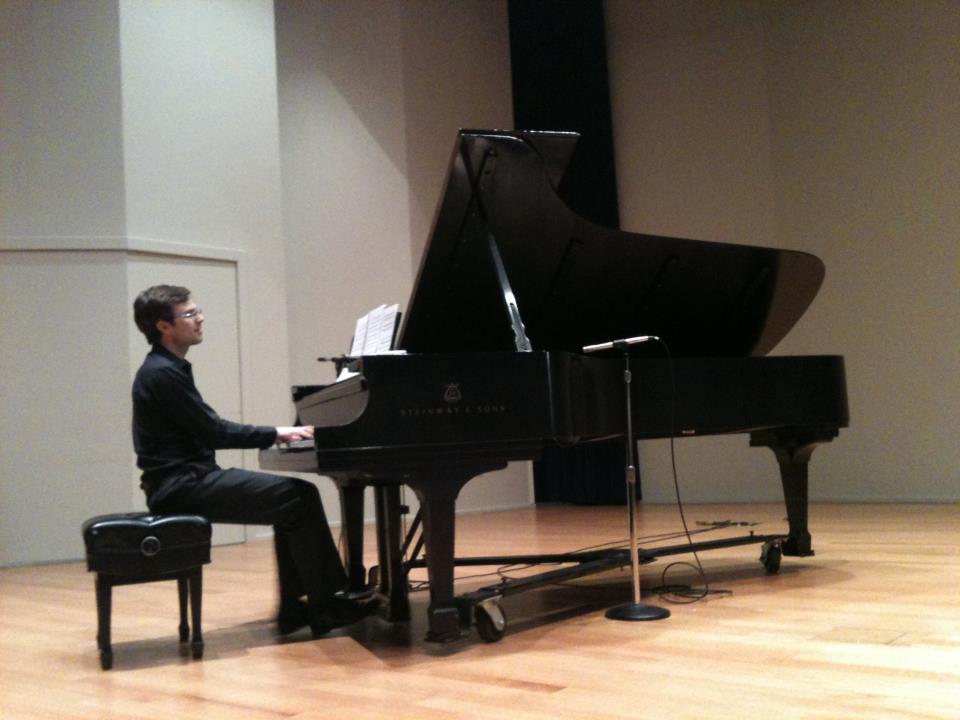 Mark Tollefsen, pianist.