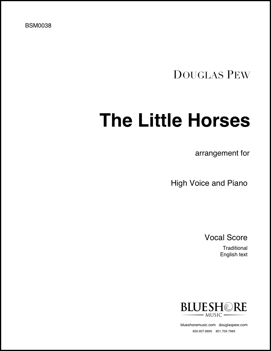 The Little Horses , for High Voice and Piano