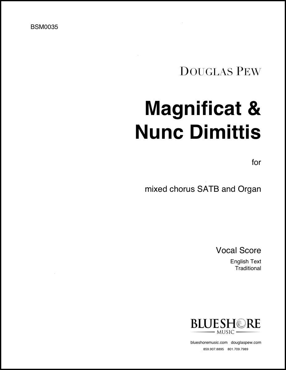 Magnificat & Nunc Dimittis (St. Thomas Service) , for SATB and Organ