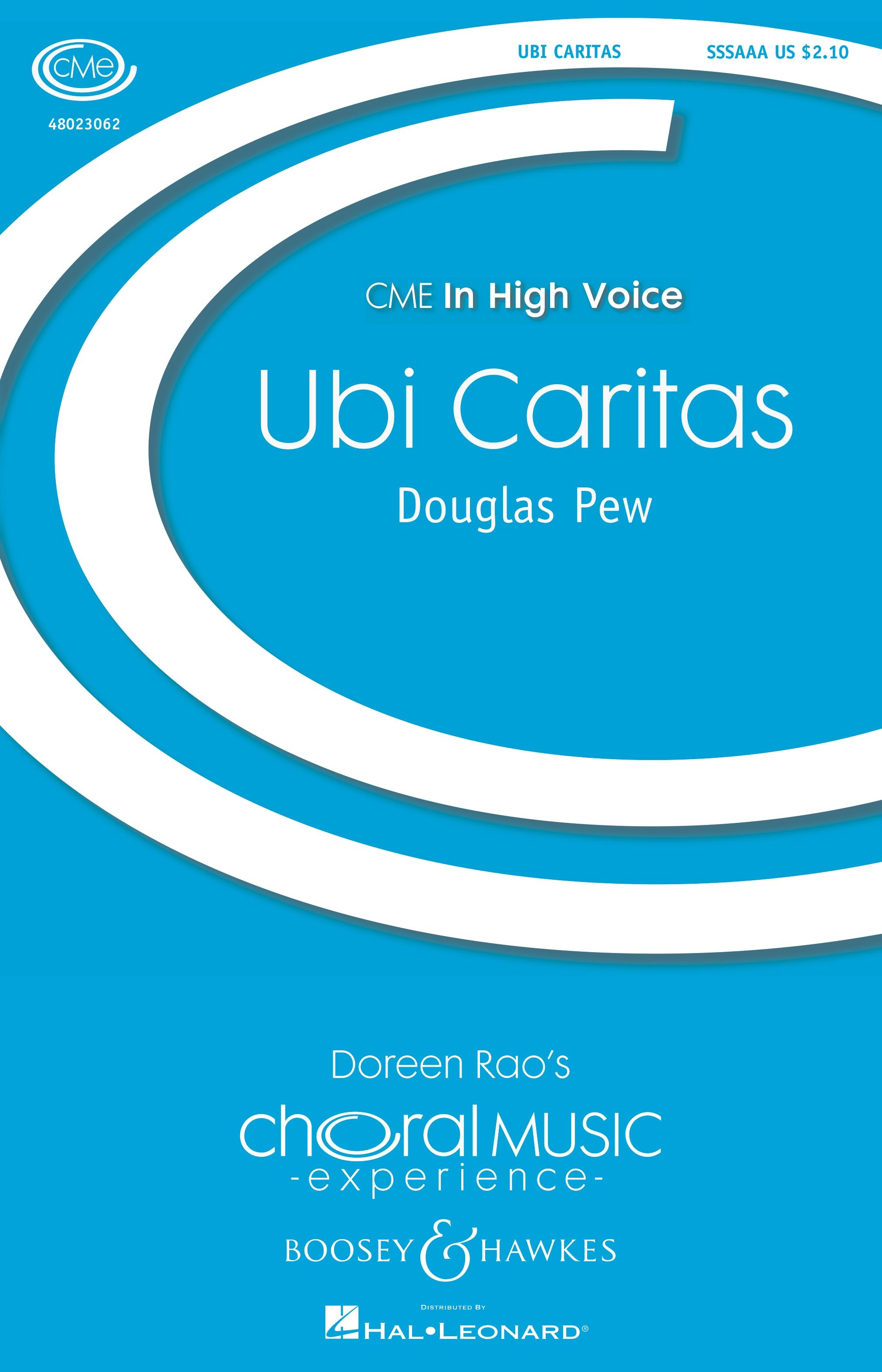 Ubi Caritas  - SSSAAA a cappella (Boosey & Hawkes)