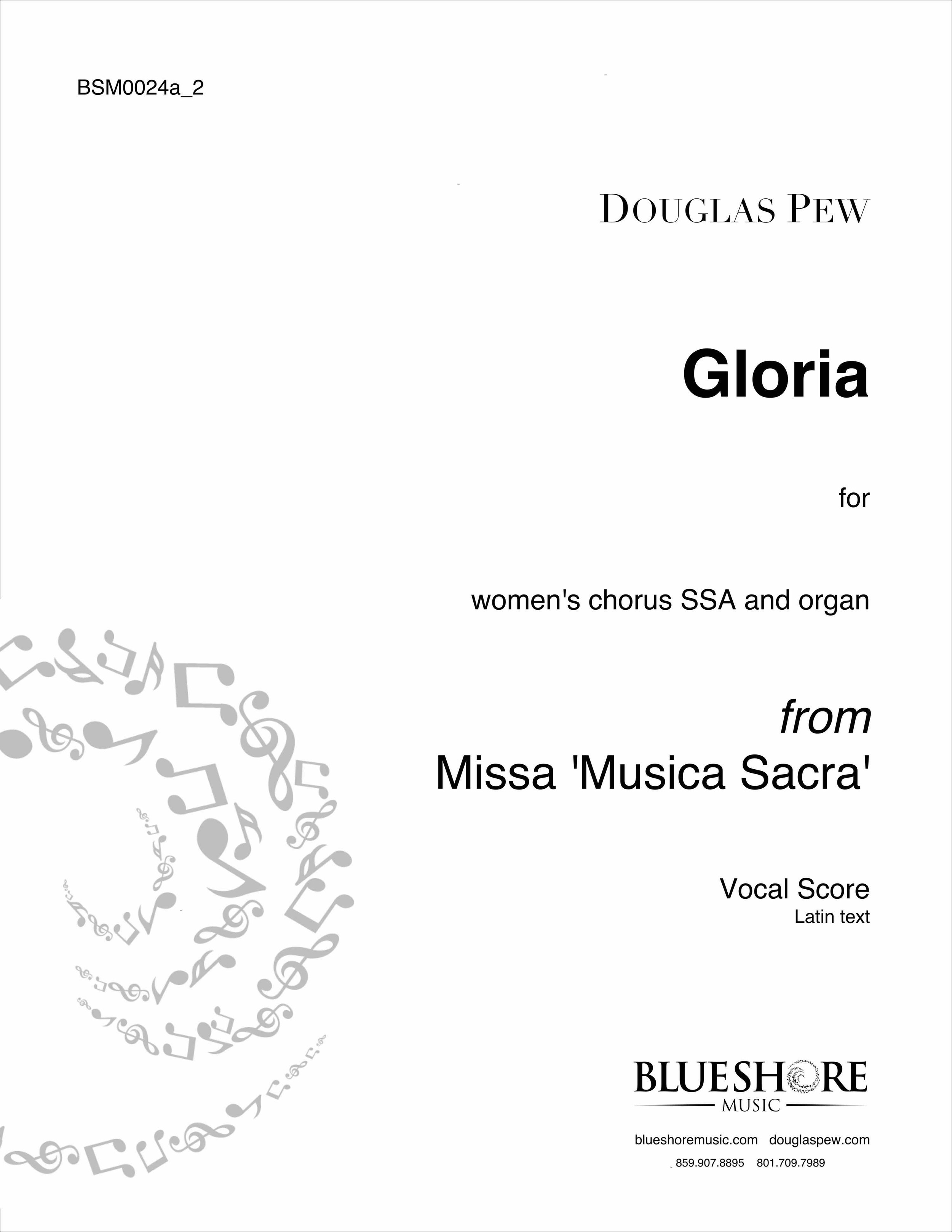 Gloria   - for SSA and Organ