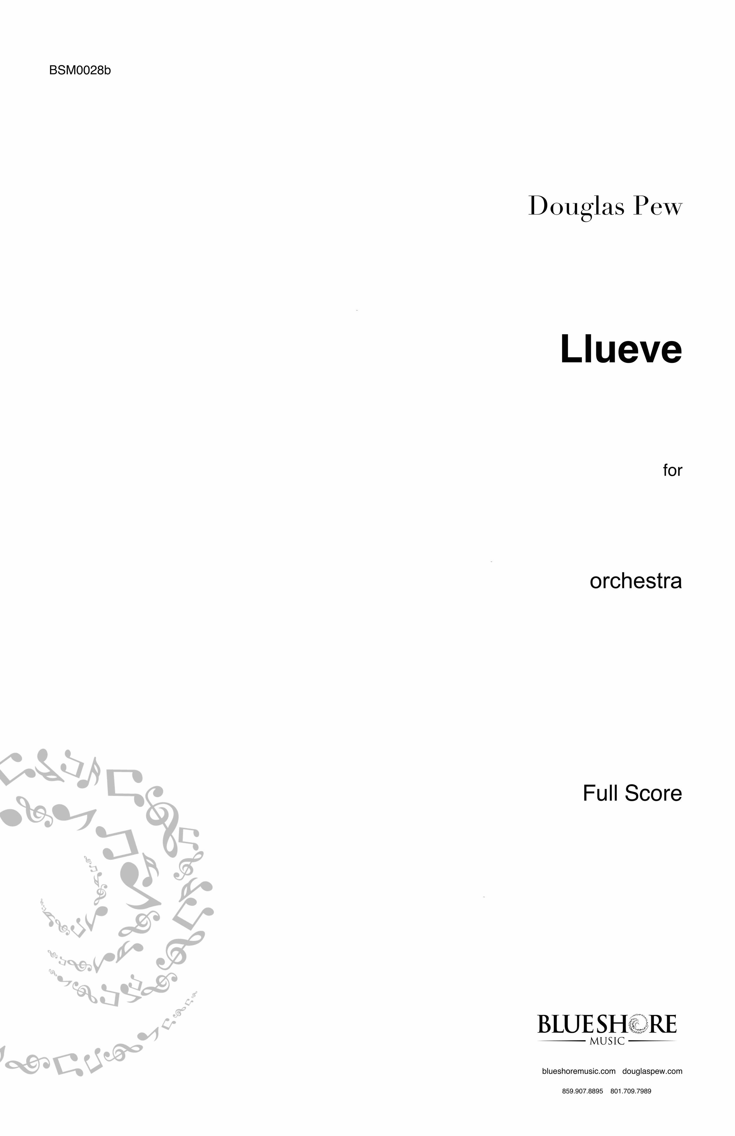 Llueve  - for Orchestra