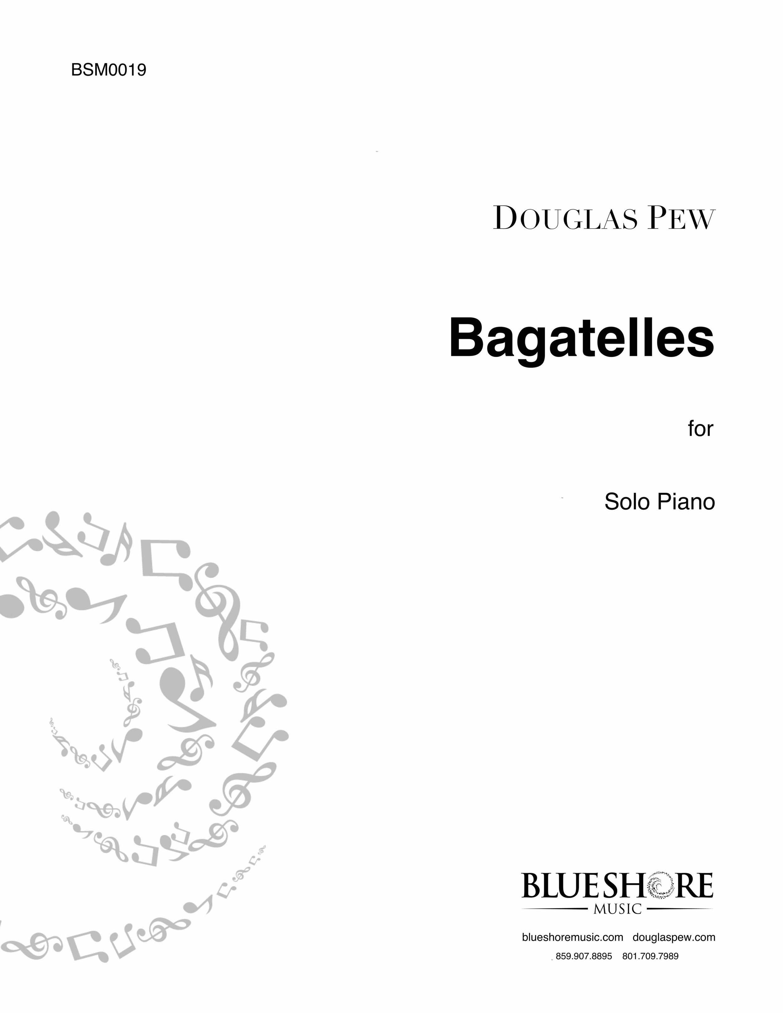 Bagatelles  - for Solo Piano