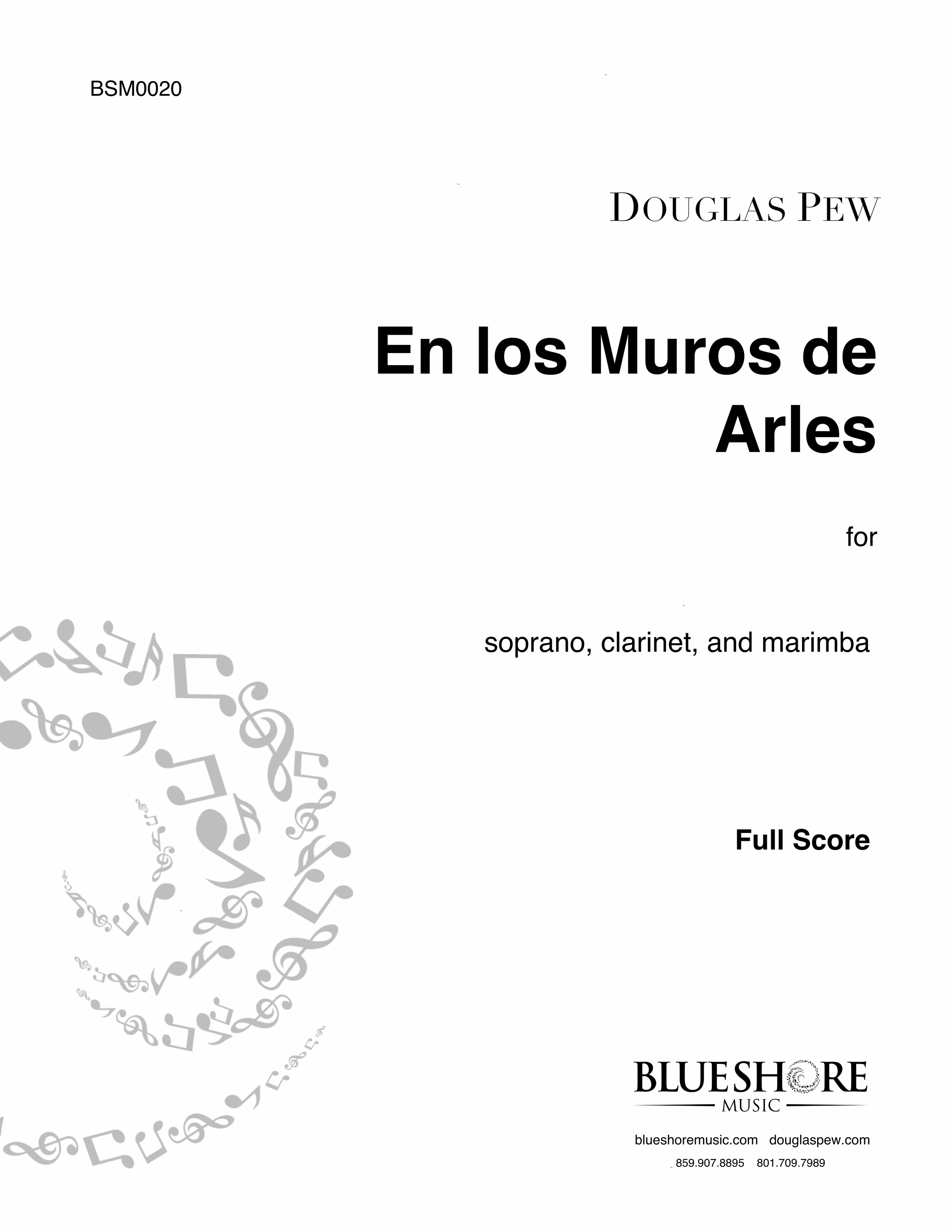 En los Muros de Arles   - for Soprano, Clarinet, and Marimba