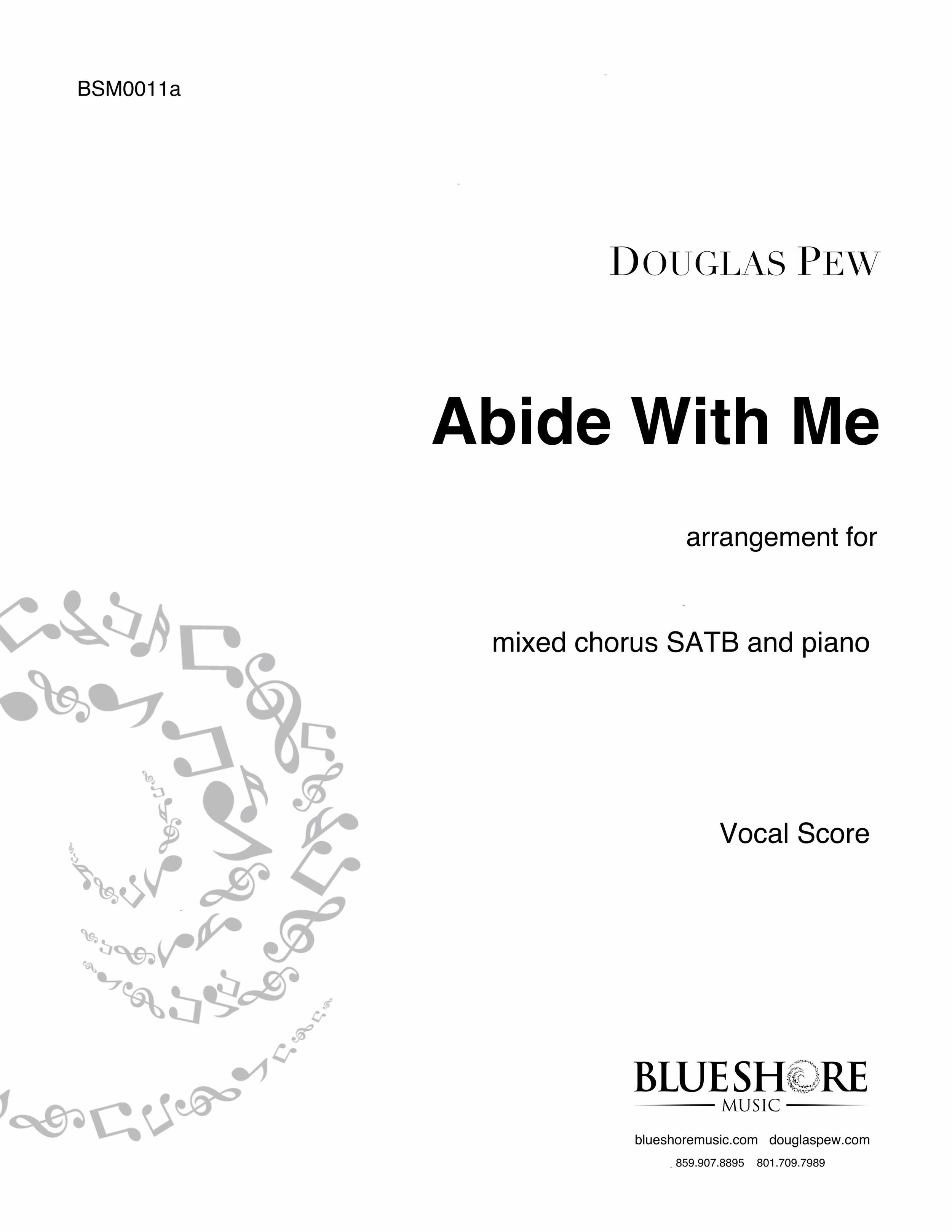 Abide With Me , for SATB and Piano