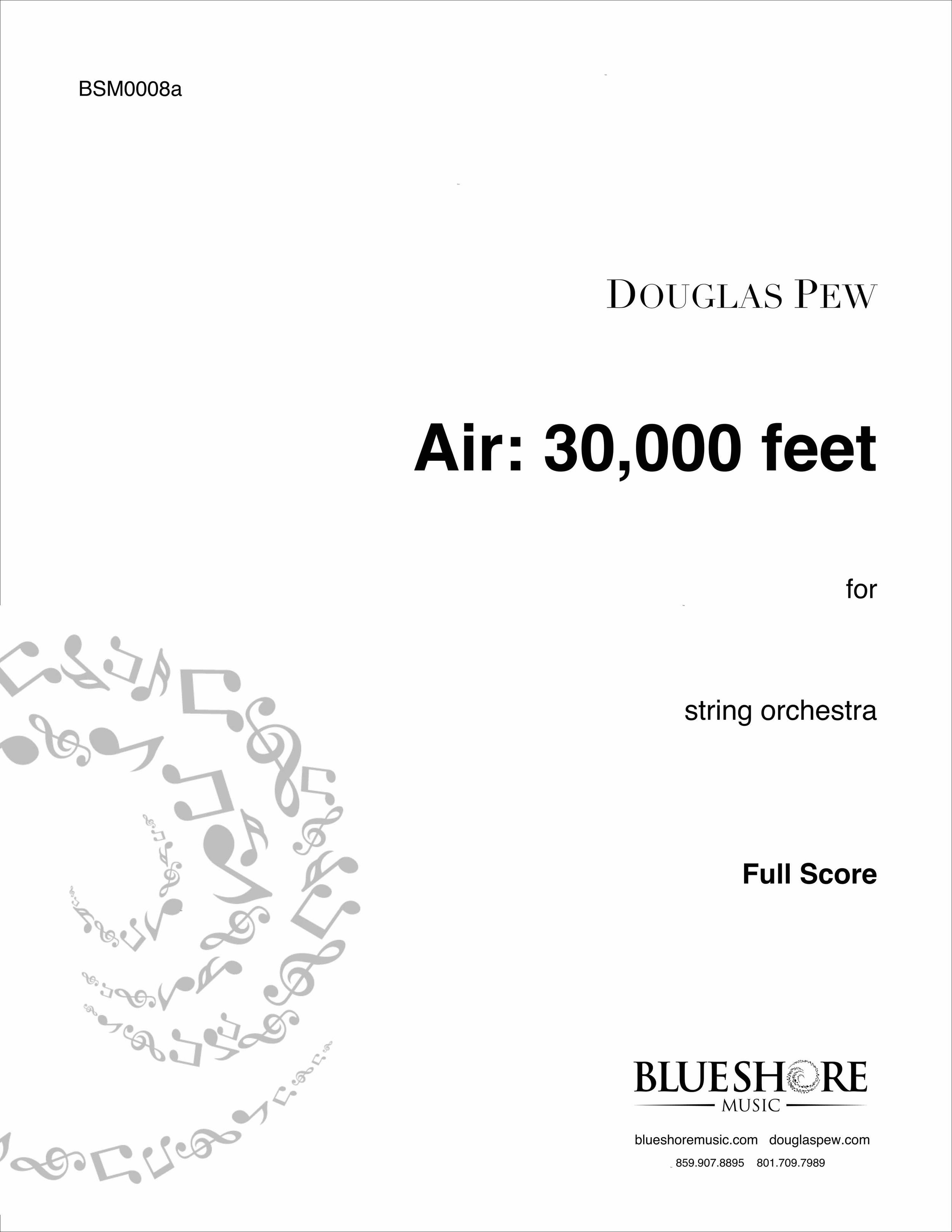 Air: 30,000 feet , for String Orchestra