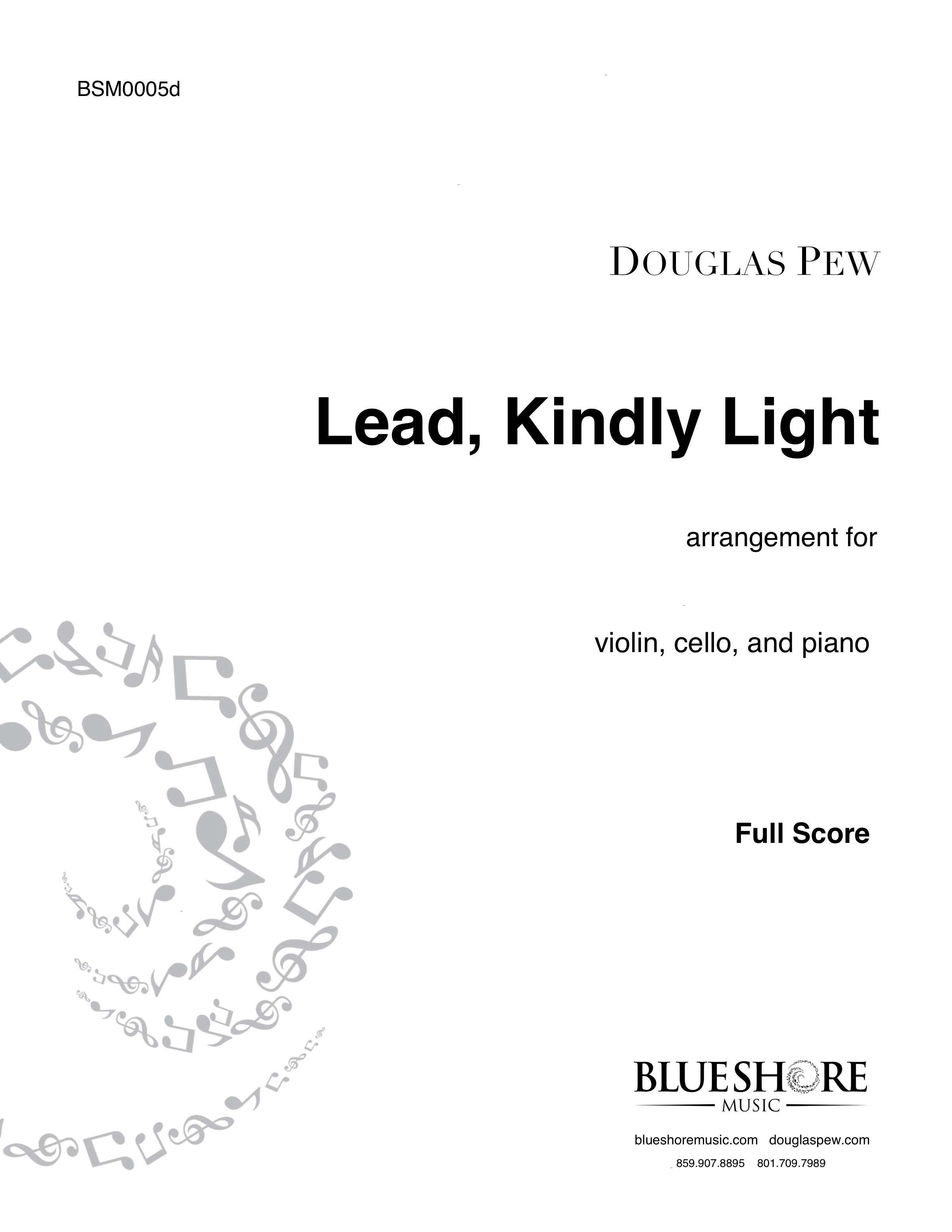 Lead, Kindly Light , for Violin, Cello and Piano