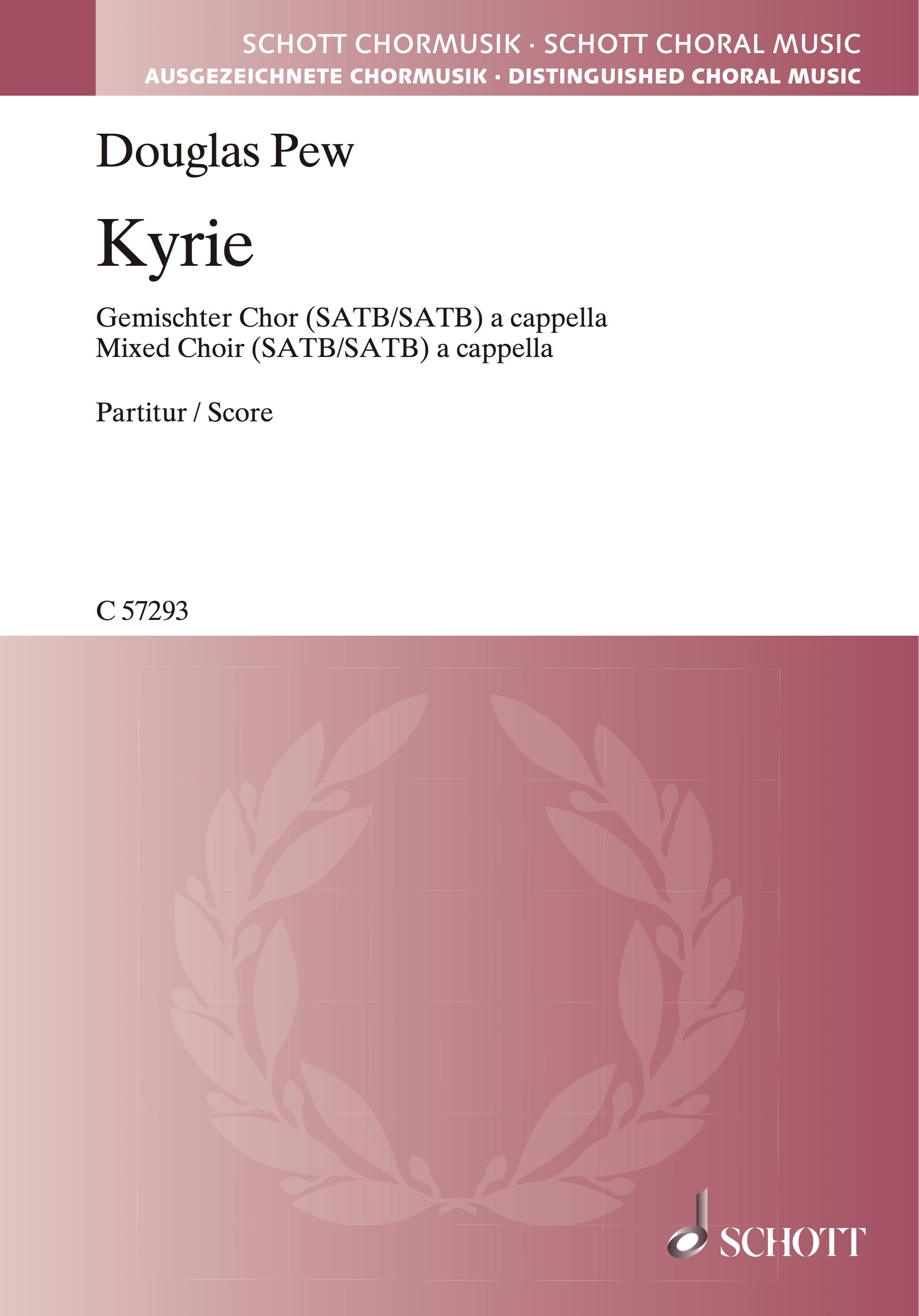 Kyrie    Double Chorus a cappella