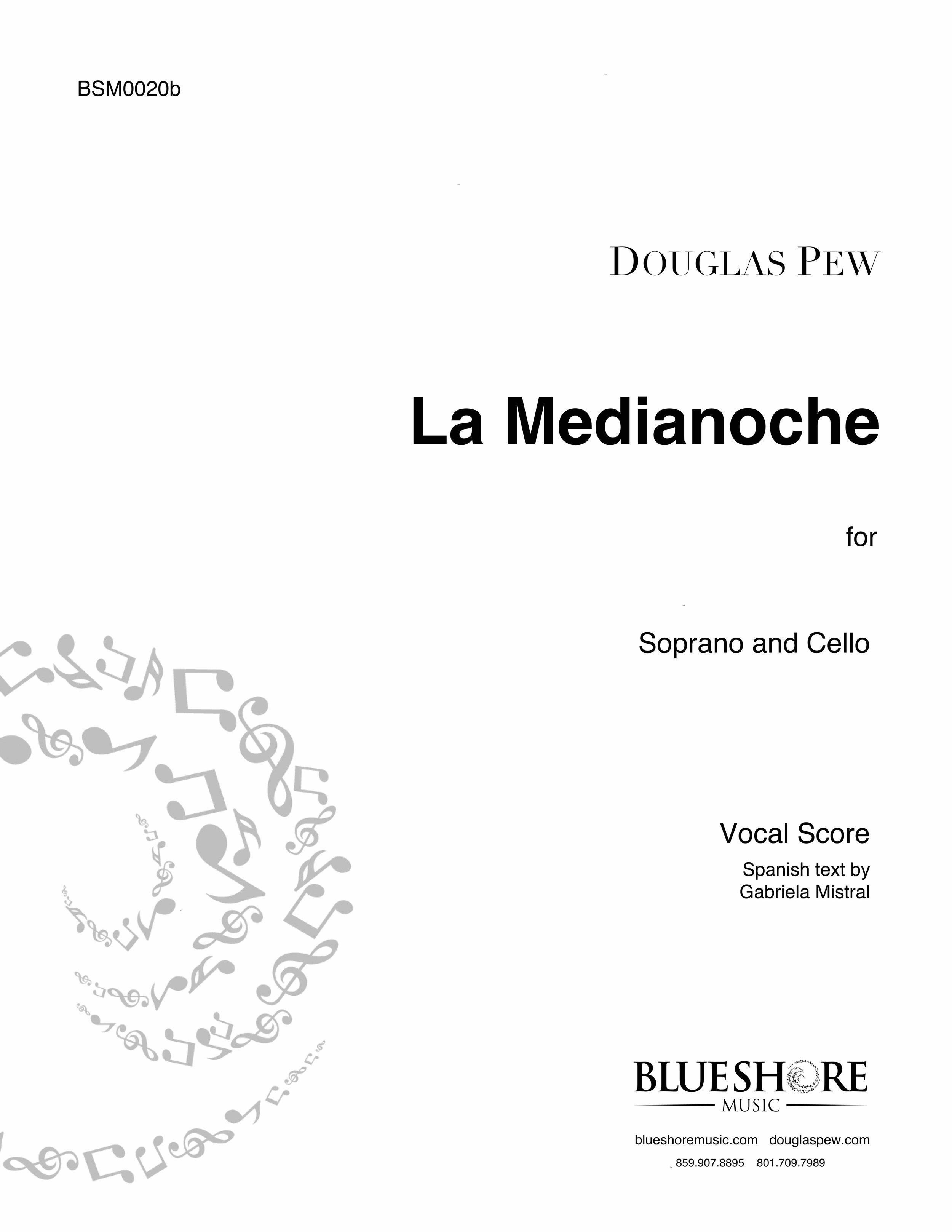 La Medianoche   Soprano and Cello