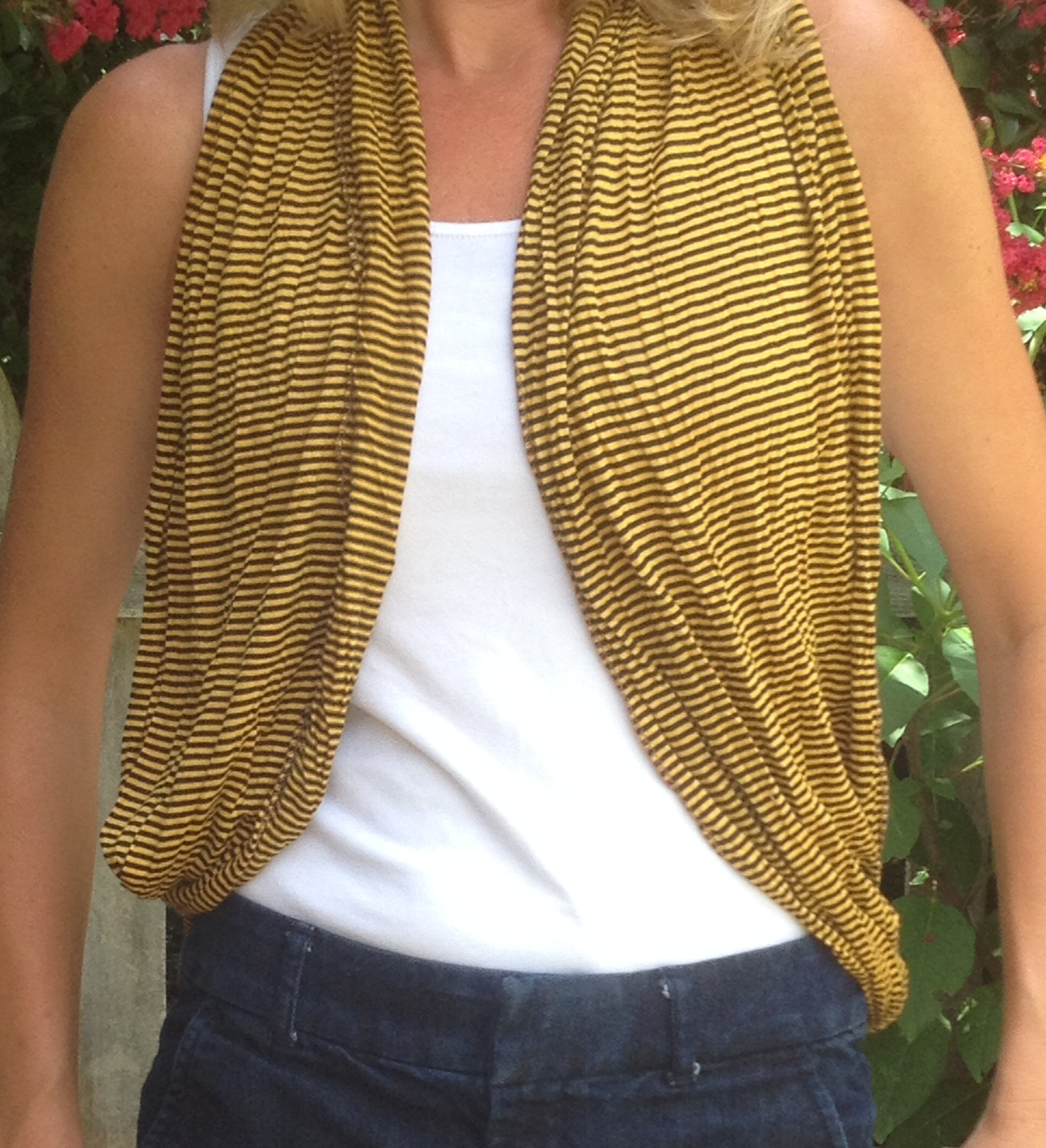 The Classy Collegiate Mini Stripe Infinity Scarf