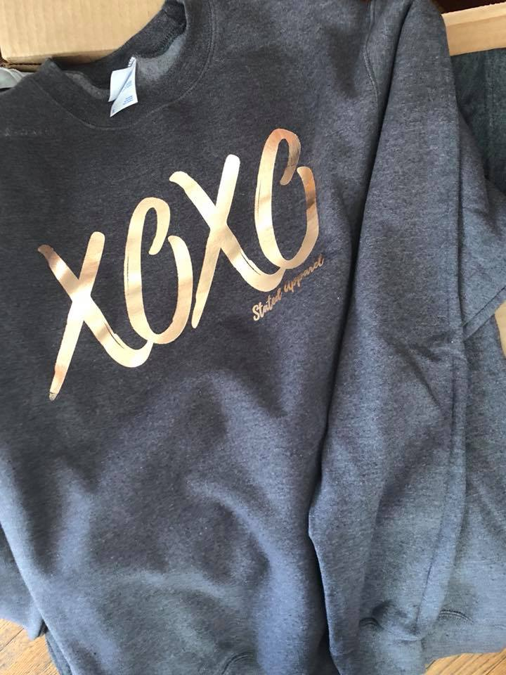 Practical and stylish solutions to keep you comfortable like our XOXO sweatshirt!